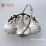 Art Nouveau Basket Sterling Silver 1910
