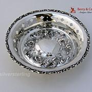 Art Nouveau Bon Bon Dish Sterling Silver Mauser 1910