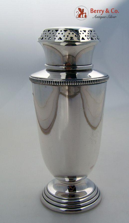 Art Deco Sugar Caster Sterling Silver Birmingham 1937
