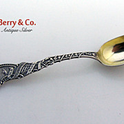 Old Ironsides Souvenir Spoon Durgin Sterling Silver 1891