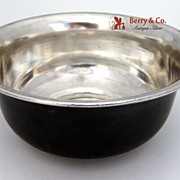 Gebelein Copper and Silver Bowl