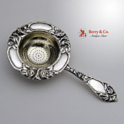 Vintage Rose Tea Strainer Norway Rasmussen 1930