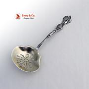 California Souvenir Candy Spoon Mayer Bros Sterling Silver 1900