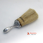 Ornate Clothes Brush Sterling Silver 1900