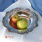 SALE Chantilly Vegetable Bowl Sterling Silver Gorham 1956