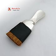 Shoe Horn Clothes Brush Black Starr Gorham Sterling Silver 1930