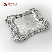Dresser Tray Sterling SIlver Whiting 1890