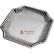 SOLD Serving Plate Sterling Silver Small