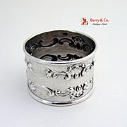 SALE Strasbourg Napkin Ring Gorham Sterling Silver 1897