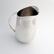 International Large Creamer Sterling Silver E104 1900