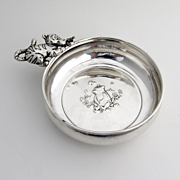 Lunt Winnie The Pooh And Tigger Porringer Sterling Silver 1970