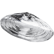 Clam Shell Bowl Sterling Silver Wallace 1940