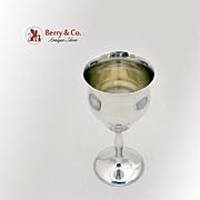 Trophy Goblet Sterling Silver Shreve Co 1915