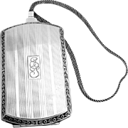 Amazing Womens Multipurpose Case Sterling Silver Webster 1920