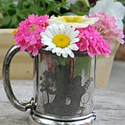 SALE Victorian Wilcox Silverplate Baby Cup