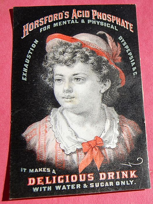 Trade Card Horsford's Acid Phosphate