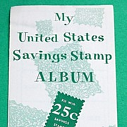 1956 United States Savings Stamp Album
