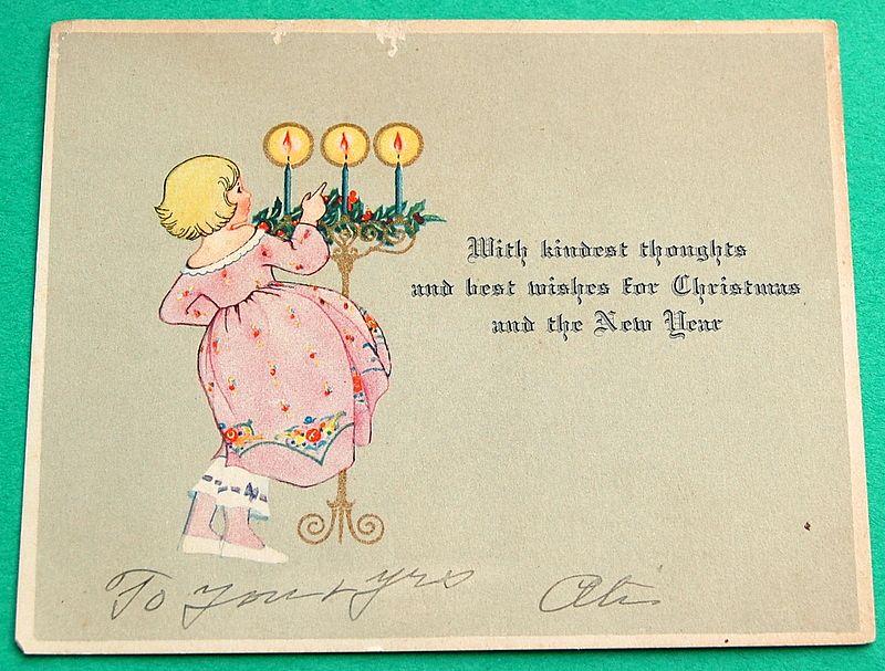 Deco Christmas & New Years Card