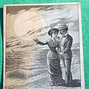 SOLD 1880 New Home Sewing Machine Trade Card