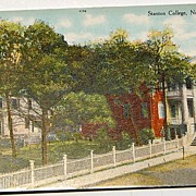 Stanton College Natchez Mississippi Post Card