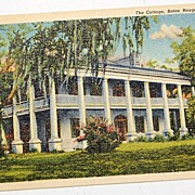 REDUCED The Cottage Baton Rouge Louisiana Postcard