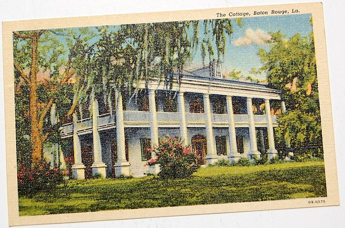 The Cottage Baton Rouge Louisiana Postcard