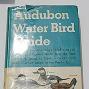 1951 1St Edition Audubon Water Bird Guide By Richard H. Pough