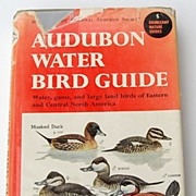 1951 Audubon Water Bird Guide By Richard H. Pough