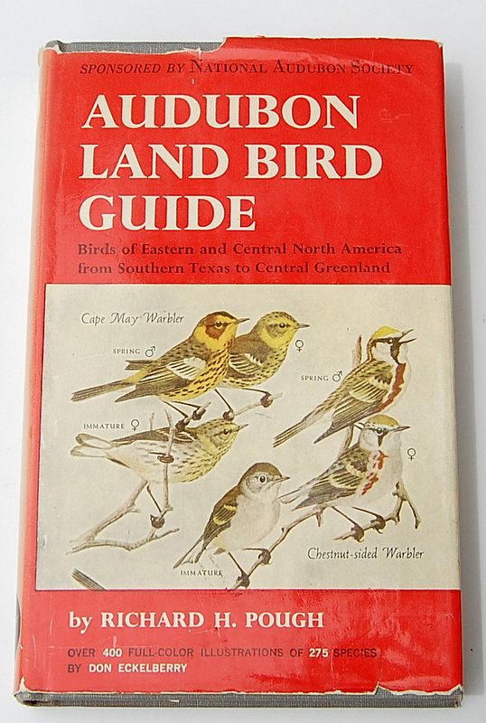 1949 Audubon Land Bird Guide By Richard H. Pough