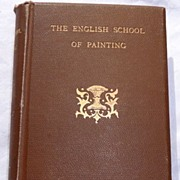 SOLD 1891 The English School Of Painting By Ernest Chesneau