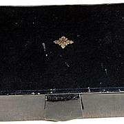 REDUCED Vintage Polished Lambskin Jewelry/Trinket Box