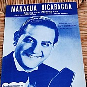"SALE 1950 Vintage Sheet Music ""The Petite Waltz""  Guy Lombardo"