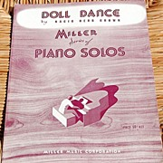 "SALE 1926 Vintage Sheet Music Miller Series ""Doll Dance"" By Nacio Herb Brown"
