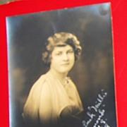 1928 Vintage Real Photo Graduation Picture