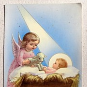 Vintage National Shrine Of St. Jude Card