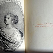 Secret Memoirs Of Madame La Marquise de Montespan Volumes I & II