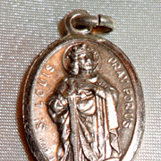 Vintage Silver Tone St. Louis Medal