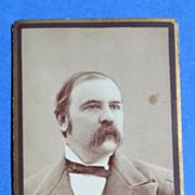 Victorian Cabinet Card Farmington N. H. Man