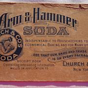 Victorian Arm & Hammer Soda Advertising Blotter
