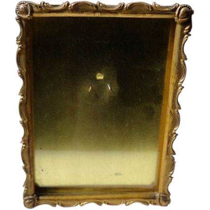Vintage Brass Gilt Picture Frame