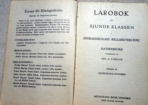 1925 Swedish  Lutheran Prayer Book
