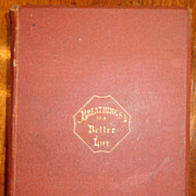 1St Edition 1867 Breathings Of The Better Life