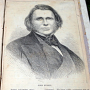 1864 Sesame & Lilies Two Lectures Delivered At Manchester In 1864 By John Ruskin