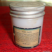 Vintage Milk Glass Jar Dorothy Gray Pore Paste