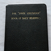 "REDUCED The ""John Oxenham"" Book Of Daily Readings"
