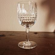 Vintage Baccarat Cordial Glass