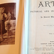 REDUCED 1870 - 1871 Art Pictorial And Industrial An Illustrated Magazine