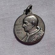 SALE Vintage 800 Silver Paulus VI Pont Max Medal