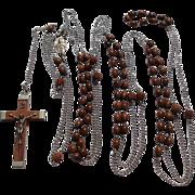 Vintage Seven Decades Priest Rosary