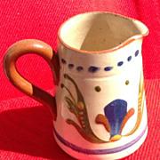 SALE Vintage English Torquay Motto Ware Creamer
